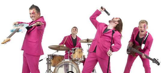 Tickled Pink Wedding band Ireland